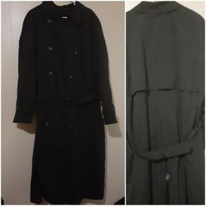Ralph Lauren Mens double chested lined trench coat